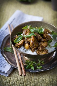 Chilli And Lemongrass Chicken from @donalskehan