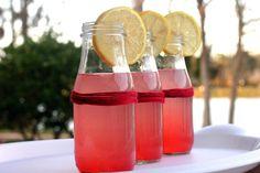 Delicious Homemade Pink Lemonade