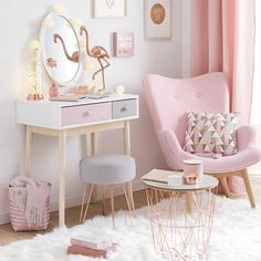 Copper And Blush Home Decor Ideas Pretty In Pink Bedroom Palette . - Copper and blush home decor ideas Pretty In Pink Bedroom Palette pretty room decor – Diy Decora - Deco Rose, Teenage Girl Bedrooms, Girl Bedroom Designs, Girls Pink Bedroom Ideas, Pastel Girls Room, Design Bedroom, Bedroom For Girls Kids, Kids Decor, Childrens Bedroom