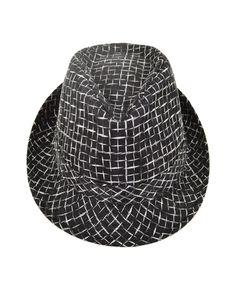 The Chain Link Fedora Hat (L XL) d7420b8fdc8ff