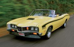 Automotive gene splicing: The best that the factory never built Edsel Ford, Car Ford, Classic Trucks, Classic Cars, Convertible, Mercury Cars, Ford Torino, Yellow Car, Pony Car