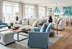 living room | floor plan | via high street market,,, footstools in front of coffee table