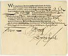 A bond issued by the Dutch East India Company, dating from 7 November for the amount of florins. This Day in History: Mar Dutch East India Company East India Company, Bond, Security Finance, World History Facts, History Quotes, Amsterdam, Strait Of Malacca, Dutch Golden Age, Empire