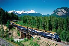 Enjoy Memorable Journeys On Board The Rocky Mountaineer!