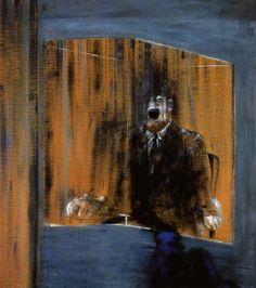 Artist: Francis Bacon Completion Date: 1952 Style: Expressionism Genre: portrait Technique: oil Material: canvas Dimensions: 49 x 39 cm