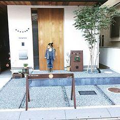 Entrance/ナチュラル/庭/柵/雑貨/玄関...などのインテリア実例 - 2017-02-06 02:06:02