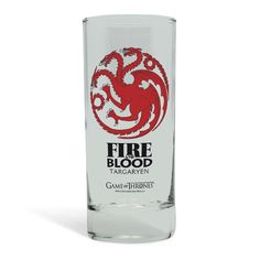 Game Of Thrones - Targaryen Glass 29Cl  Manufacturer: Abysse Corp. Barcode: 3700789207771 Enarxis Code: 014480 #toys #glass #Game_of_Thrones #Targaryen #tvseries