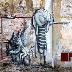 Bastique street art