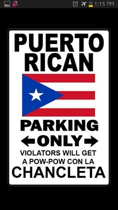 PR parking only