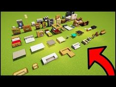 Minecraft Furniture Ideas And Build Hacks - You Can Build As Well! - Minecraft Servers Web - MSW - Channel Minecraft Furniture Ideas And Build Hacks - You Can Build As Well! Video Minecraft, Minecraft Plans, Minecraft Survival, Amazing Minecraft, Minecraft Tutorial, Minecraft Blueprints, Cute Minecraft Houses, Minecraft Room, Minecraft Crafts
