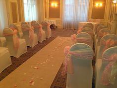 Ceremony in the Promenade Lounge, Imperial Hotel, Llandudno