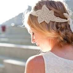cute 20's inspired head bands