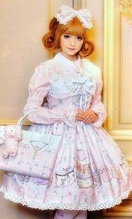 Super cute Sweet Lolita