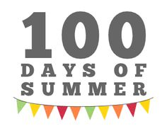 It's another 100 days of summer  (the '12 edition) of activities/crafts/recipes to do with your kids.