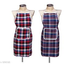Aprons Beautiful Elite Colourful PolyesterApron Fabric: Polyester Size: 28 in x 19 In Description: It Has 2 Piece Of Apron Pattern: Checkered Sizes Available: Free Size *Proof of Safe Delivery! Click to know on Safety Standards of Delivery Partners- https://ltl.sh/y_nZrAV3  Catalog Rating: ★4 (5456)  Catalog Name: Free Mask Beautiful Elite Colorful Polyester Aprons CatalogID_165537 C129-SC1633 Code: 441-1298128-