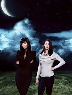 Sarah Power and Catherine Bell in  The Good Witch's Family