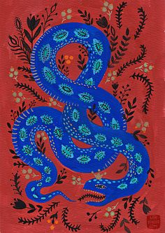 snake by mirdinara