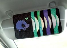 Handmade CD Holder...I need one of these for my car!