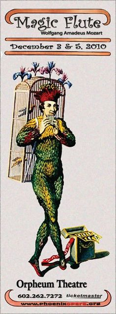 """The Magic Flute"""" by Wolfgang Amadeus Mozart"""