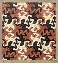 Lizard - M.C. Escher