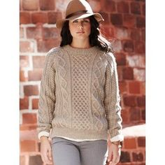 Free Intermediate Women's Sweater Knit Pattern