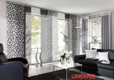 Unland Urbanstyle, window ideas, curtain, curtains and sun protection - curtains. Home Panel, Curtains, Panel Curtains, Curtain Decor, Home Curtains, Panel Blinds, Interior Design, Home Decor, Home Deco