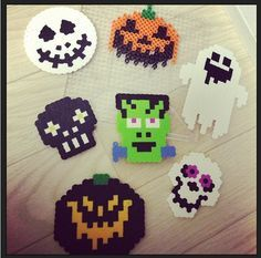 Image result for hama bead ghosts