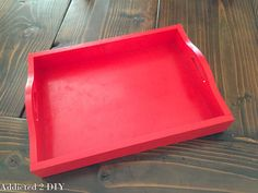 DIY Bottlecap Serving Tray - Addicted 2 DIY Bottle Cap Crafts, Diy, Simple, Gifts, Home Decor, House, Painted Trays, Furniture, Presents