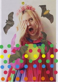 Creature Fear: Photos by Eleanor Hardwick; collages by Ben Giles; styling by Nao Koyabu || via RookieMag
