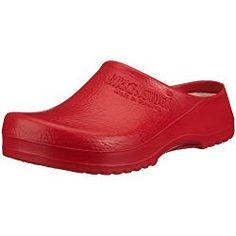 Birkenstock Women´s Super-Birki Red Alpro-Foam Sandals 38 EU R 068031 - Comparetip Best Nursing Shoes, Nursing Clogs, Walking In High Heels, Best Walking Shoes, Black Garlic, Best Sunscreens, Womens Training Shoes, Shoe Company, Clogs