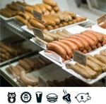 "Planning a night downtown? Check out our guide to restaurants: ""Downtown: Eat Your Heart Out""    Photo of WurstkÜche"