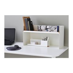 Need more room to spread out let ikea and a raised desktop shelf olives desk system bekant desktop shelf white ikea altavistaventures Image collections