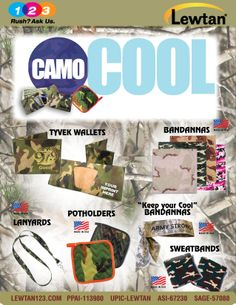 Camo is IN!  Create your campaign to blend in with your message.