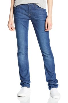 G-Star Raw Women's 3301 Contour High Rise Straight Benwick Stretch Denim Jean *** You can find out more details at the link of the image.