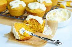 Muffins de zanahoria con naranja Crema Spread 4 de willcookforsmiles.com #muffins #carrot