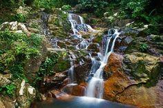 Asah Waterfall at Tioman Island