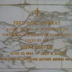 Fred MacMurray (Holy Cross)