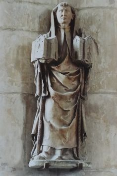 Saint Robert of Molesme 1028 17 April 1111 was an abbot one of the founders of the Cistercian Order and is honored as a Christian saint Robert of molesm Saint Robert, Line Art, Catholic, Saints, Christian, Statue, Life, Line Drawings, Christians