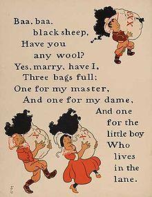 nursery rhyme + colors