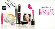 Gotta have it Beauty Bundle Collection, all 6 for only $14.99 with any $9.99 purchase from this campaign!   Start shopping now at http://youravon.com/lriojasnoriega