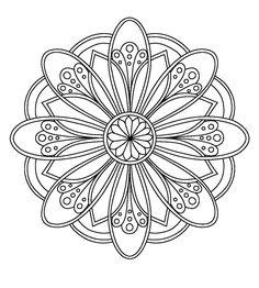 – 0 Coloring Mandalas etc - Malvorlagen Mandala Mandala Art, Mandalas Painting, Mandalas Drawing, Mandala Coloring Pages, Mandala Pattern, Coloring Book Pages, Dot Painting, Coloring Sheets, Zentangles