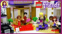 Lego Friends Heartlake Grand Hotel Set Unboxing Building Review Part Two...