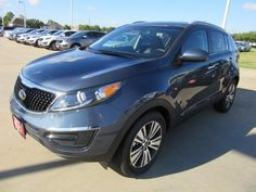 2016 Kia Sportage is perfect for road ahead. New Sportage give smooth ride and memorable driving experience Buy these amazing Car at Kia Cars Dealer Houston.