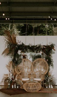 Get inspired by these fab boho wedding altars, boho wedding arches and backdrops. If you're planning a summer wedding and still looking. wedding arch These Fab Boho Wedding Altars, Arches and Backdrops that make us swoon 7 Rustic Bohemian Wedding, Bohemian Wedding Decorations, Wedding Altars, Bohemian Backdrop, Wedding Ceremony, Bohemian Chic Weddings, Reception, Bohemian Bride, Bouquet Wedding