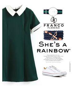 """Franco Florenzi www.francoflorenzi.com"" by mell-2405 ❤ liked on Polyvore featuring Converse and francoflorenzi"