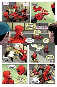 He can find his way out of any bad situation. | 23 Reasons Everyone Should Love Deadpool