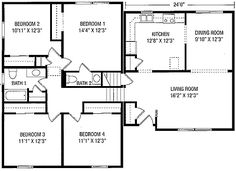 Beautiful Tri Level House Plans 8 1970s Tri Level Home Plans Split Level House Plans Tri