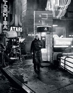 "A HAUNTING, EERILY PROPHETIC MIXTURE OF SCIENCE FICTION AND FILM NOIR, DIRECTOR RIDLEY SCOTT""S BLADE RUNNER BOASTS ONE OF THE MOST ASTONISHINGLY DESIGNED FUTURES EVER PUT ON FILM - A DARK, DECAYING LOS ANGELES CIRCA 2019."