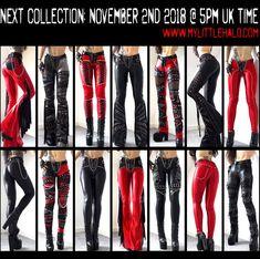 135e9abd0f2186 Slideshow image 2 Concert Wear, Studded Leather, Leather Pants, Feminine  Fashion, Curve