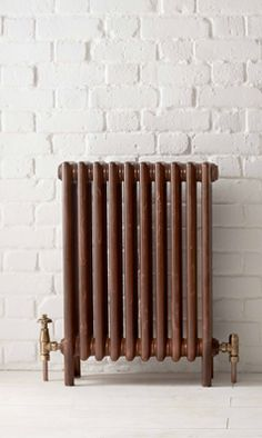 Bisque Classic radiator in Rustique Cast Iron Radiators, Paint Effects, Olaf, Home Appliances, Street, Classic, Bathrooms, Bathing, House Appliances